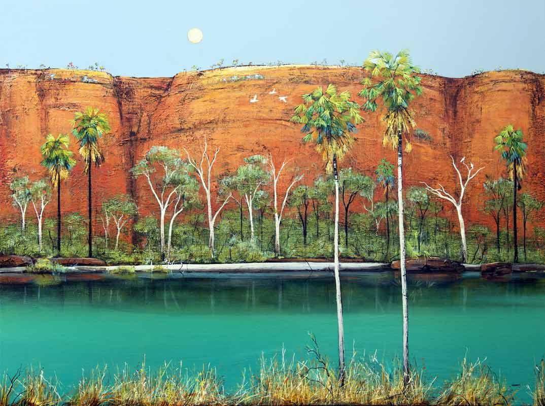 Ingrid Windram Colours Of The Kimberley Painting