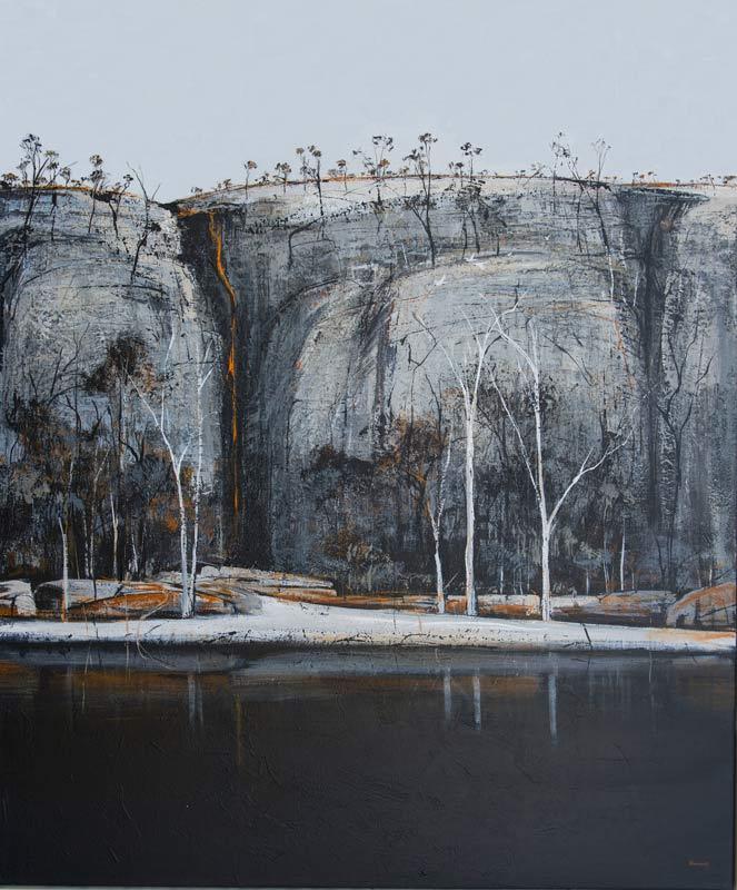 Ingrid Windram Evening Shades Painting