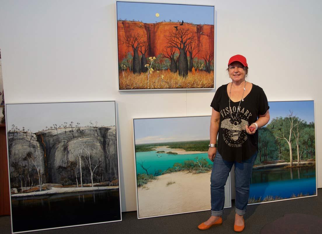 Ingrid Windram At Jahroc Galleries