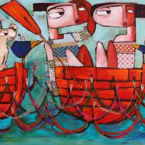 Janine Daddo A Voyage Of Love Painting