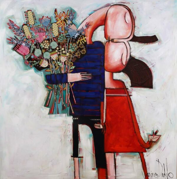 Janine Daddo Breathe You In Painting