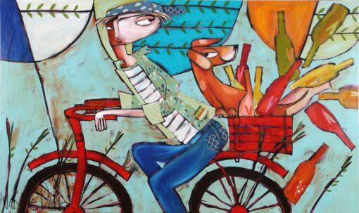 Janine Daddo Mixed Dozen Painting 1