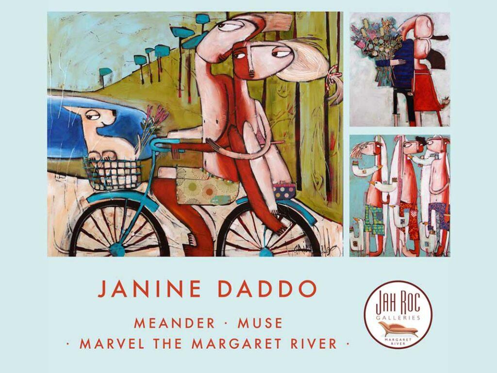Janine Daddo Exhibition   Meander, Muse, Marvel The Margaret River Fine Art