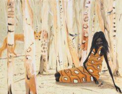 Judy Prosser   In The Paperbark Forest Fine Art