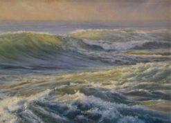 Kerry Nobbs   White Water Wash, Sunrise Fine Art