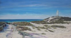 Ann Steer   A Path Well Travelled Rottnest Fine Art
