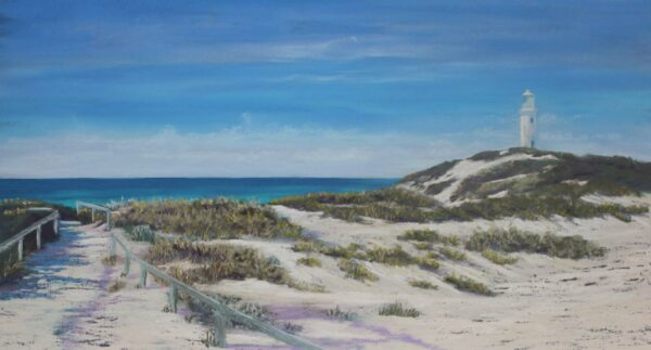 Ann Steer A Path Well Travelled Rottnest Painting