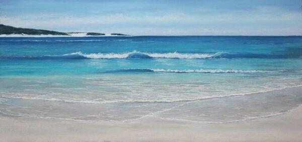 Ann Steer Injidup Wave Break Painting