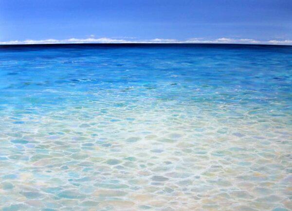 Ann Steer Opal Water Painting
