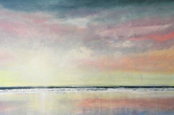 David Giles Serenity Dawn Painting 1