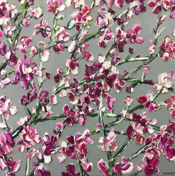 Felicia Aroney Magnolia Spray Painting