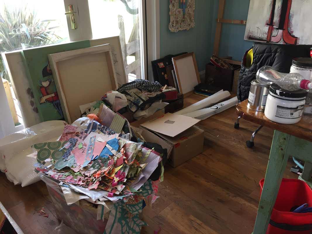 Janine Daddo Artist Studio 2