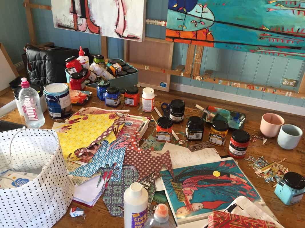 Janine Daddo Artist Studio 4