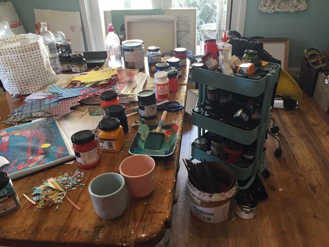 Janine Daddo Artist Studio 6