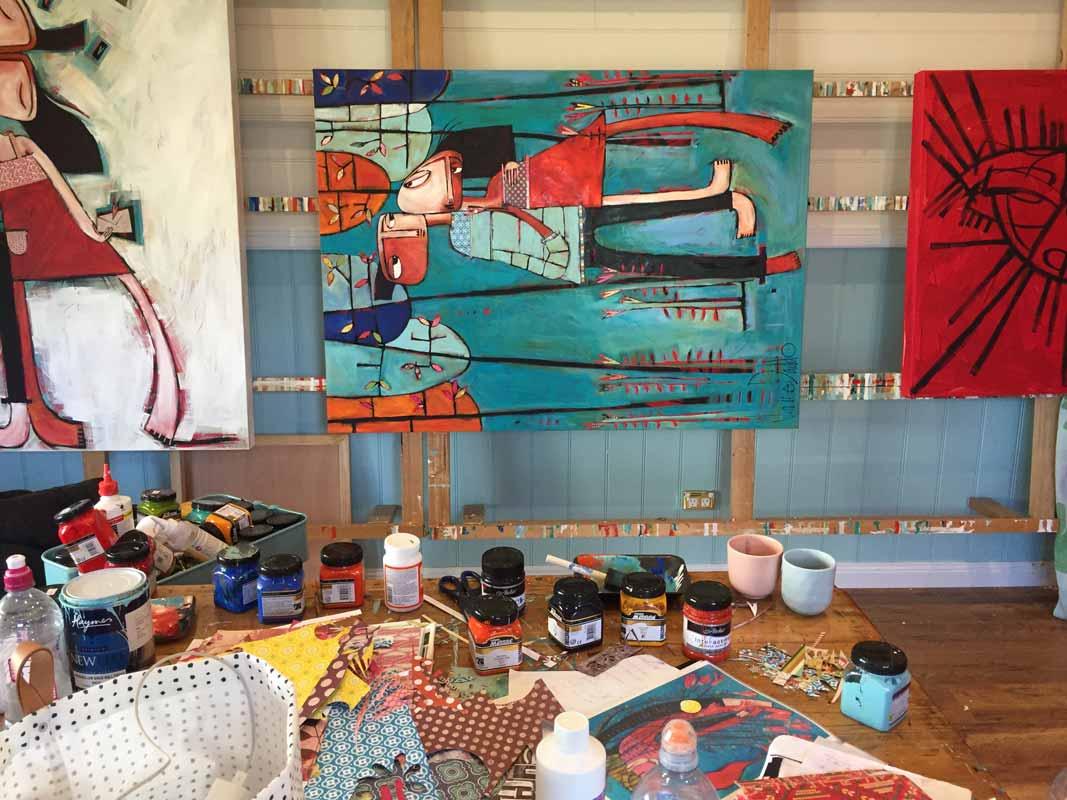 Janine Daddo Artist Studio 8