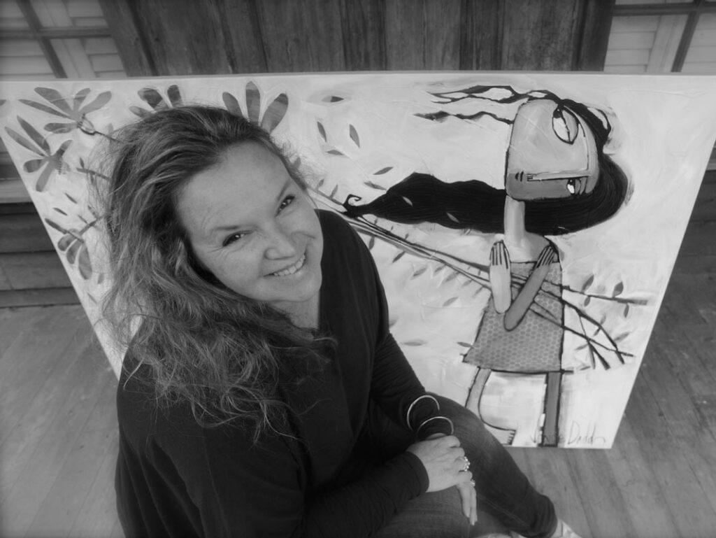 Janine Daddo Artist   Up Close & Personal Fine Art