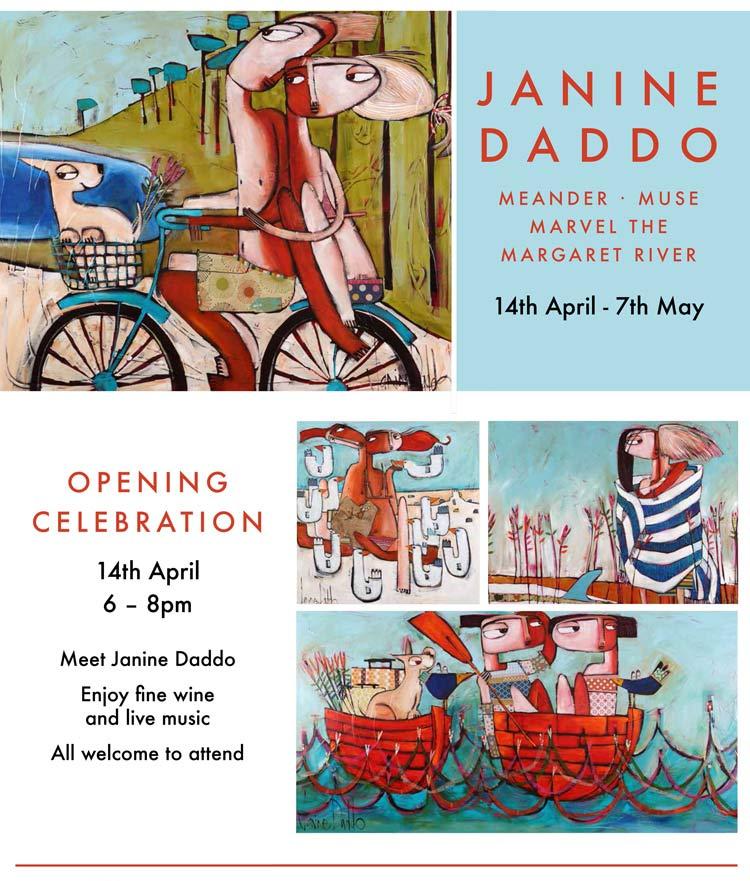 Janine Daddo Exhibition Surf Poster Web