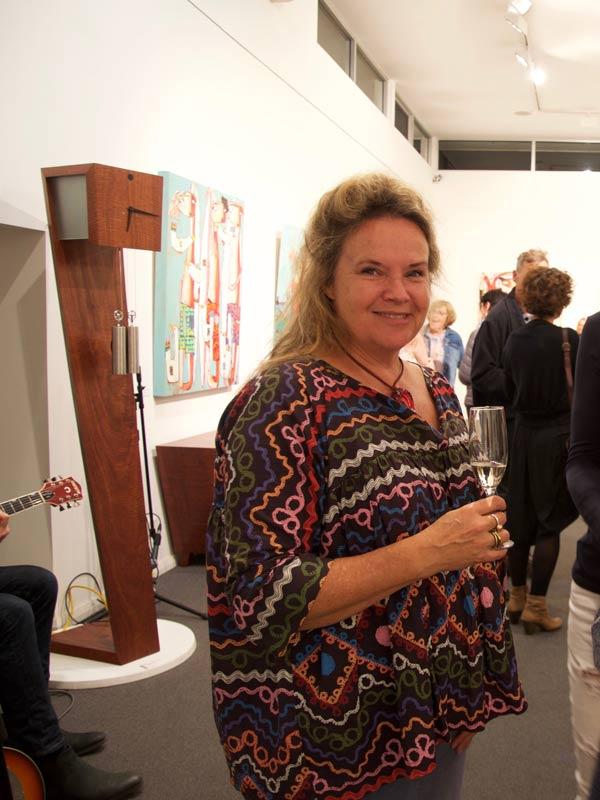 Janine Daddo Exhibition Opening Night At Jahroc Galleries 10