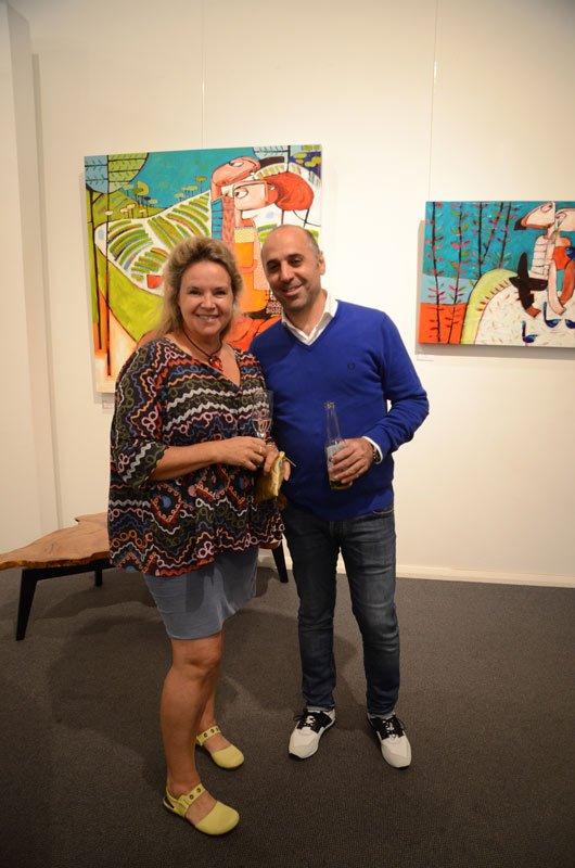Janine Daddo Exhibition Opening Night At Jahroc Galleries 3