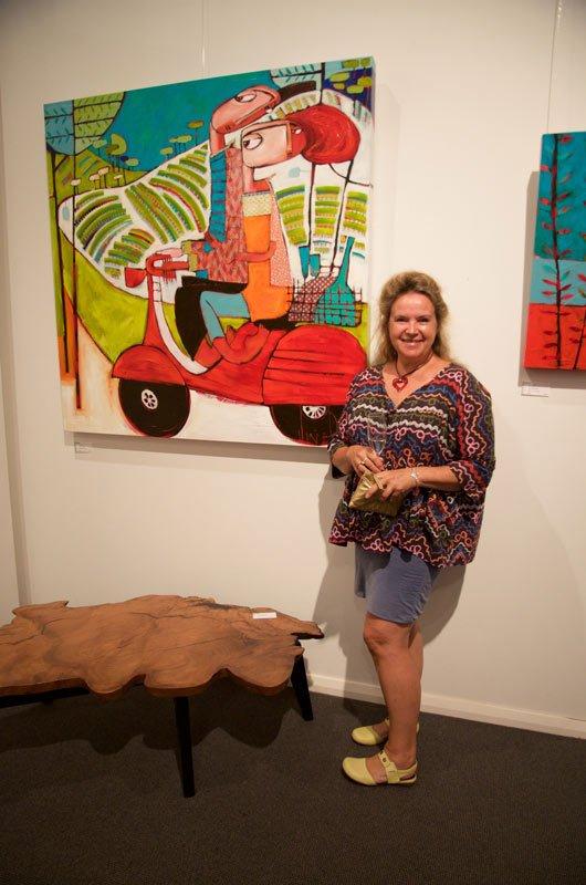 Janine Daddo Exhibition Opening Night At Jahroc Galleries 6