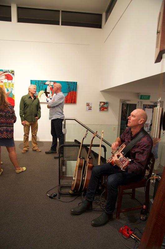 Janine Daddo Exhibition Opening Night At Jahroc Galleries 9