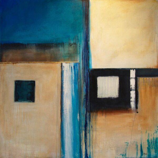 Josh Windram Behind Blue Eyes Painting