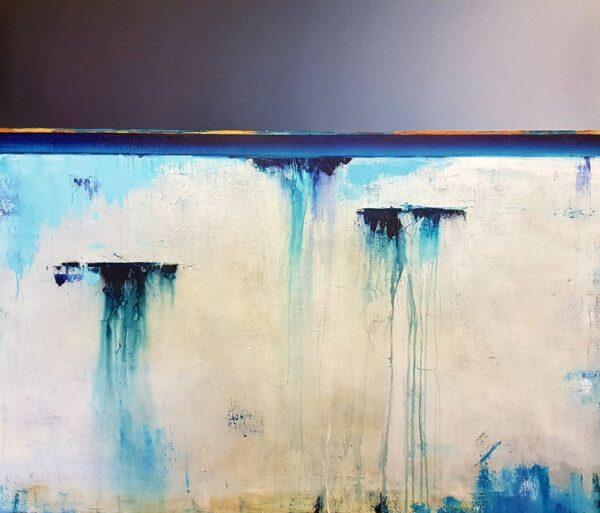Josh Windram Wish You Were Here Painting