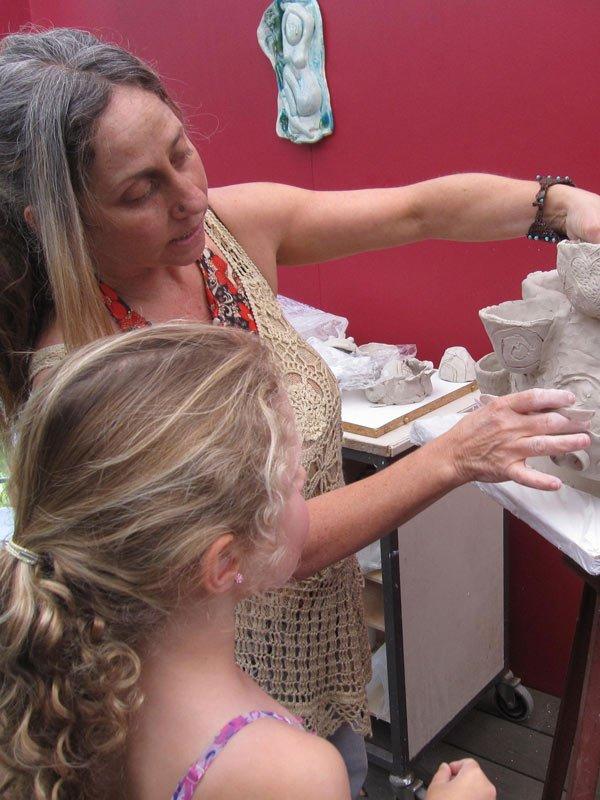 Lauren Rudd Artist Open Studios