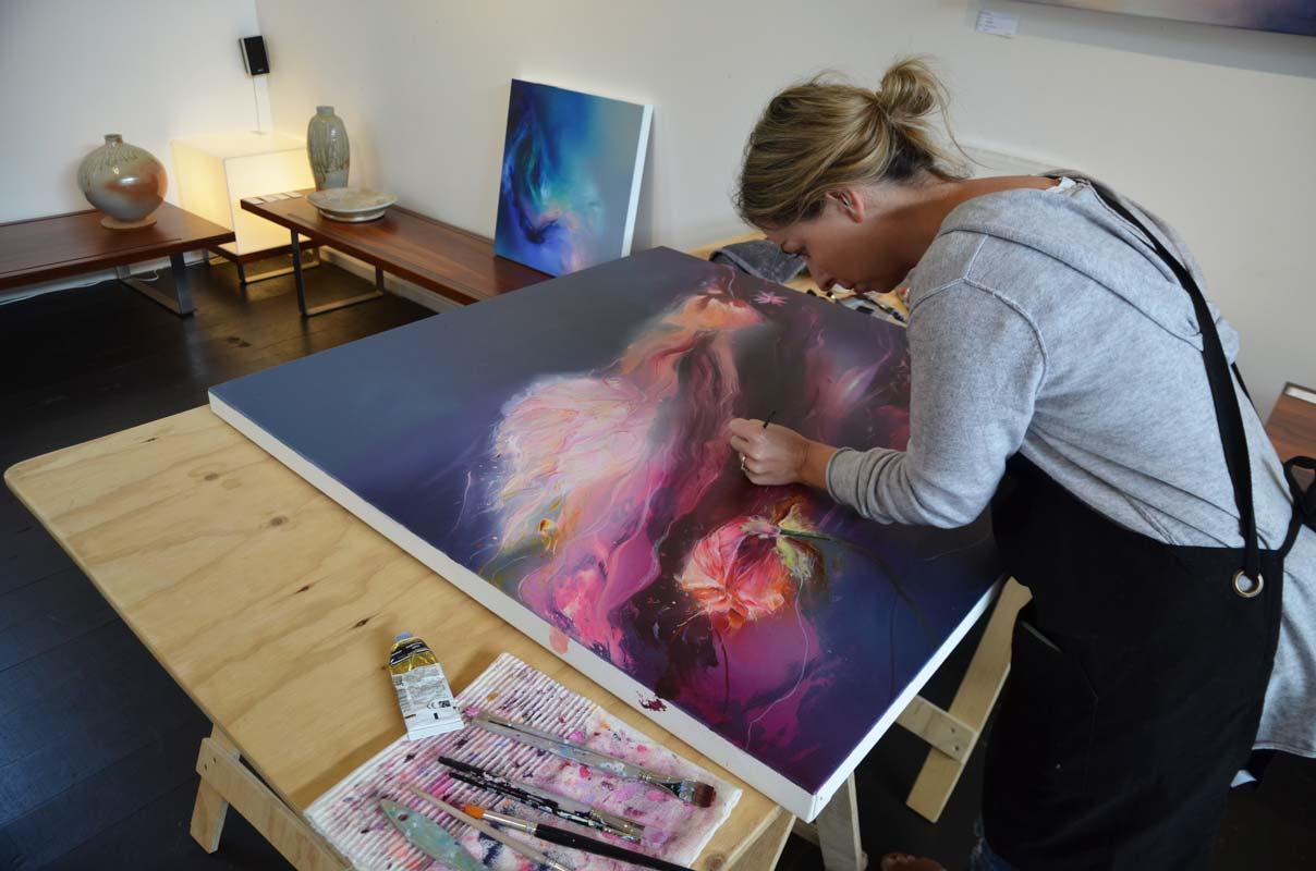 Liv Vardy Open Studios 2018