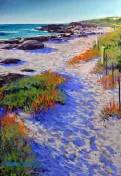 Shirley Fisher   Redgate Beach Pathway Fine Art