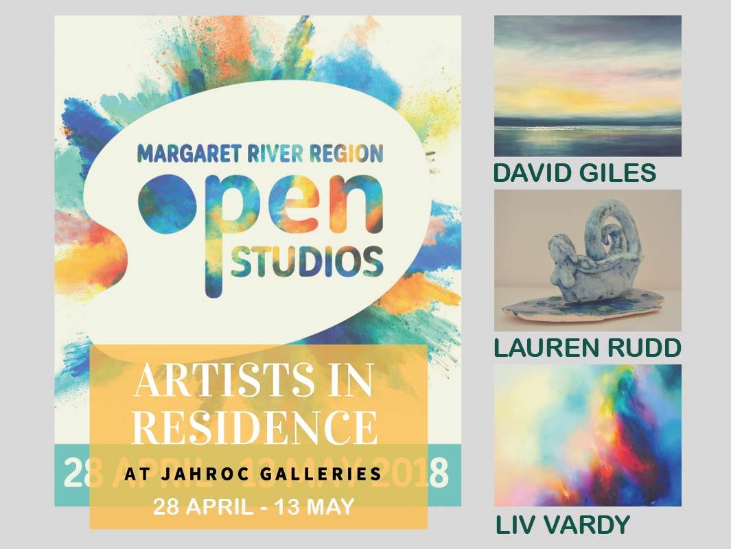 MRR OPEN STUDIOS: Artists In Residence @ JahRoc