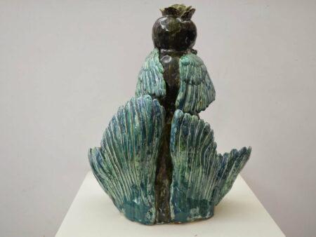 Lauren Rudd High Priestess Back Sculpture