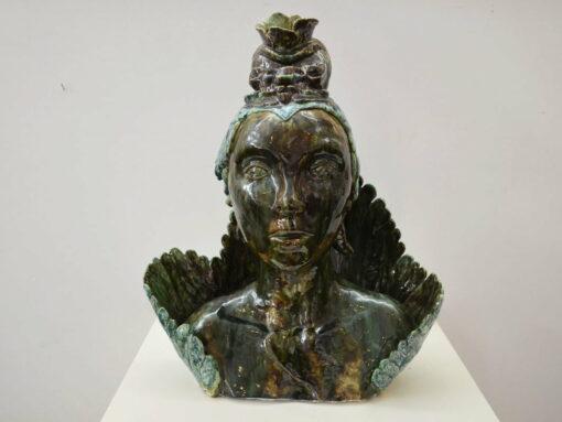Lauren Rudd High Priestess Sculpture