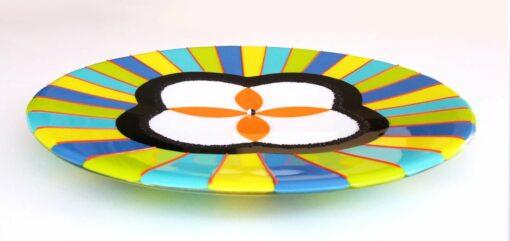 Mah59 Margaret Heenan Celebrate Platter 40cmd X3 5cmh 795