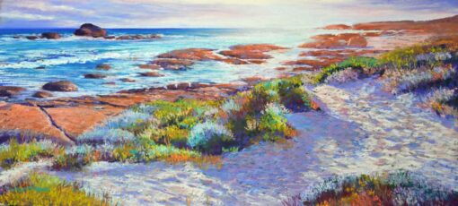 Shirley Fisher Redgate Beach In Autumn Painting