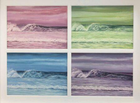 Ann Steer Kaleidoscope Pastel Painting