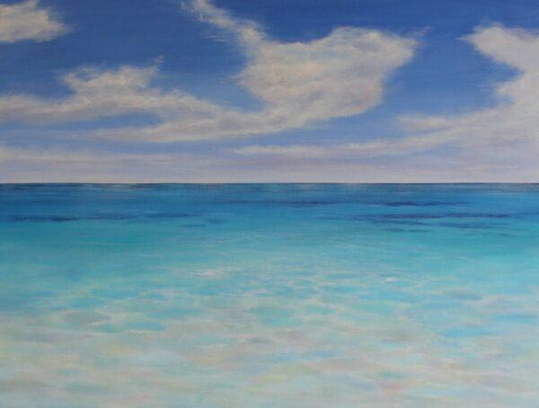 Ann Steer Serene Acrylic Painting