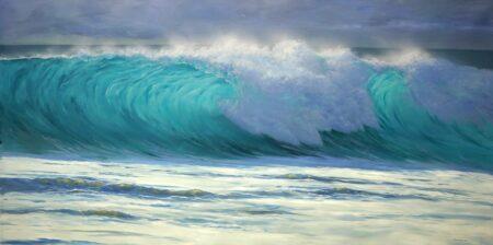 Leigh Hewson Bower Crystal Wave 240x117cm