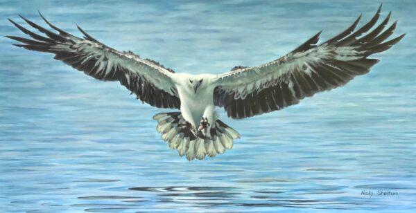 Nicky Shelton The Catch Painting