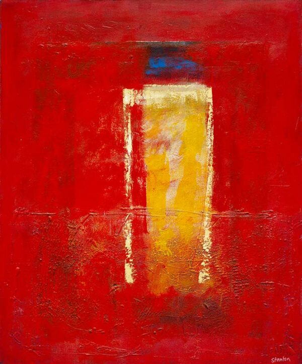 Ralph Stanton Red Capped I Painting
