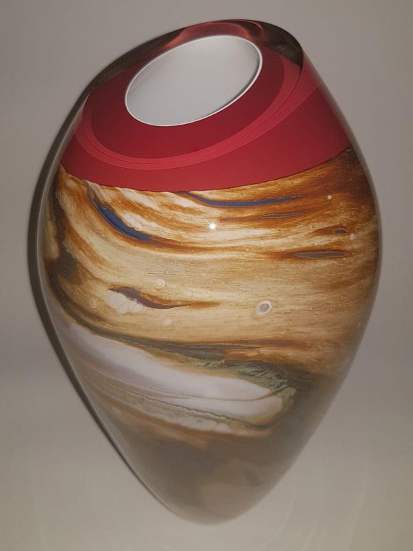 Rick Cook Harvest Series In Season Glass Vessel