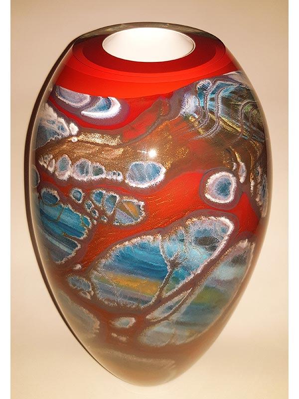 Rick Cook Windows To The Sea Glass Vessel 2