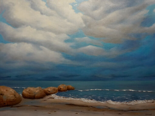 Sm50 Shane Moad Storm Coming In 102x76cm 2300