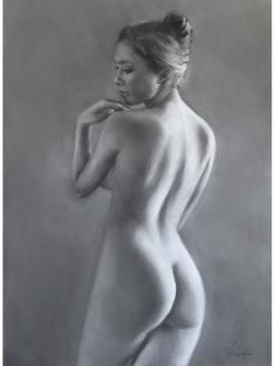 Simon Collins   Crossed Legs Fine Art