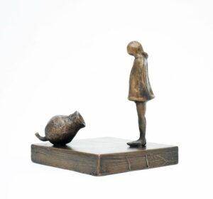 Yuko Takahashi Friendship Bronze Sculpture