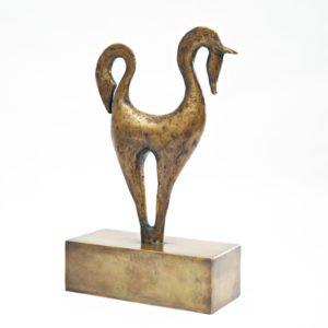 Yuko Takahashi Morning Dew Bronze Sculpture