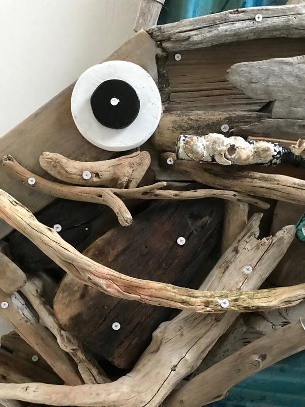 Charles Wilcox Haviana From Hamelin Bay Driftwood Iron Sculpture 3