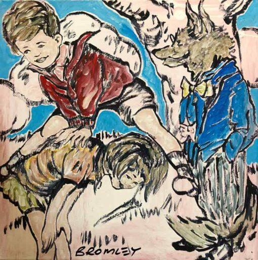 David Bromley Adventures On Sunday Painting Childrens Series