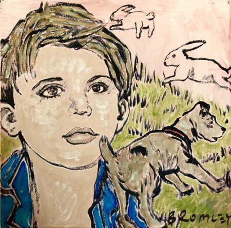 David Bromley Stories Untold Painting Childrens Series