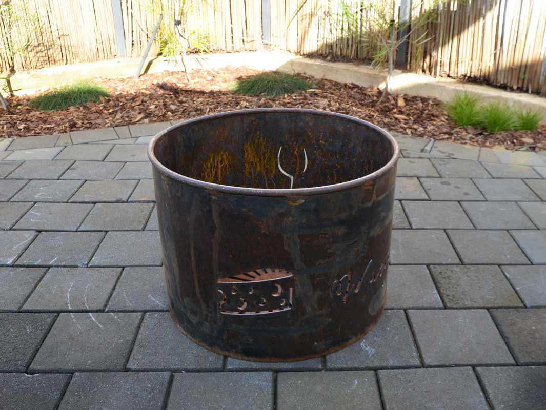 Georgia Morgan Fire Pit Metal Sculpture 2